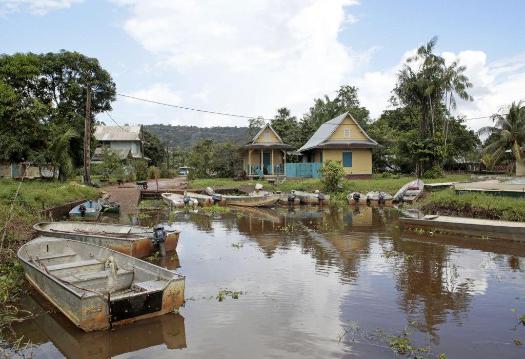 Vila de Kaw na Guiana Francesa. Foto: Getty Images