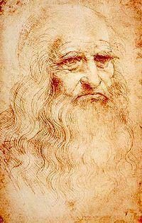 Leonardo da Vinci. Imagem: Wikimedia Commons.