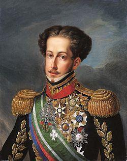 D. Pedro I, por Simplício Rodrigues de Sá. Imagem: Wikimedia commons.