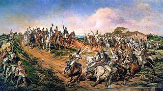 """""""Independência ou Morte"""", por Pedro Américo. Imagem: Wikimedia commons."""