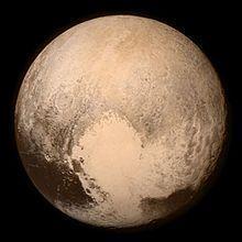 Plutão. Imagem: Wikimedia Commons.