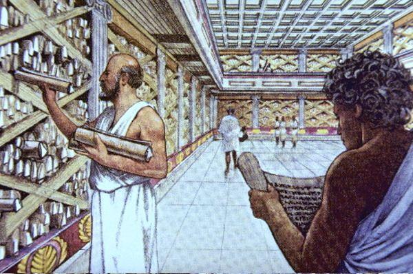 Biblioteca de Alexandria: curiosidades e história [resumo]