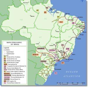transporte ferroviário no brasil
