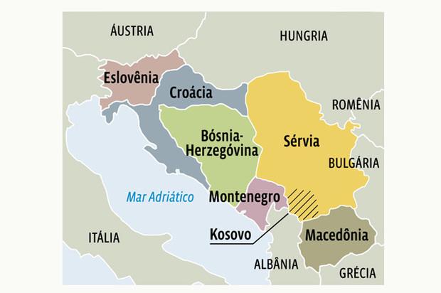Resultado de imagem para iugoslávia dissolução