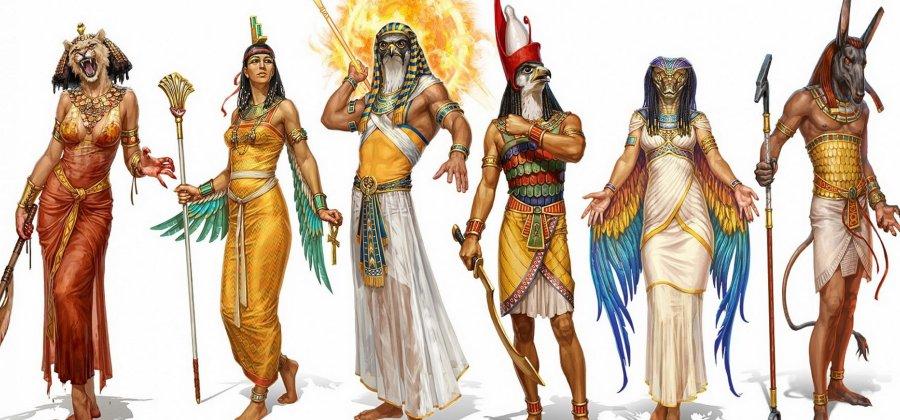 Deuses Egípcios: exemplos e imagens da mitologia [resumo]