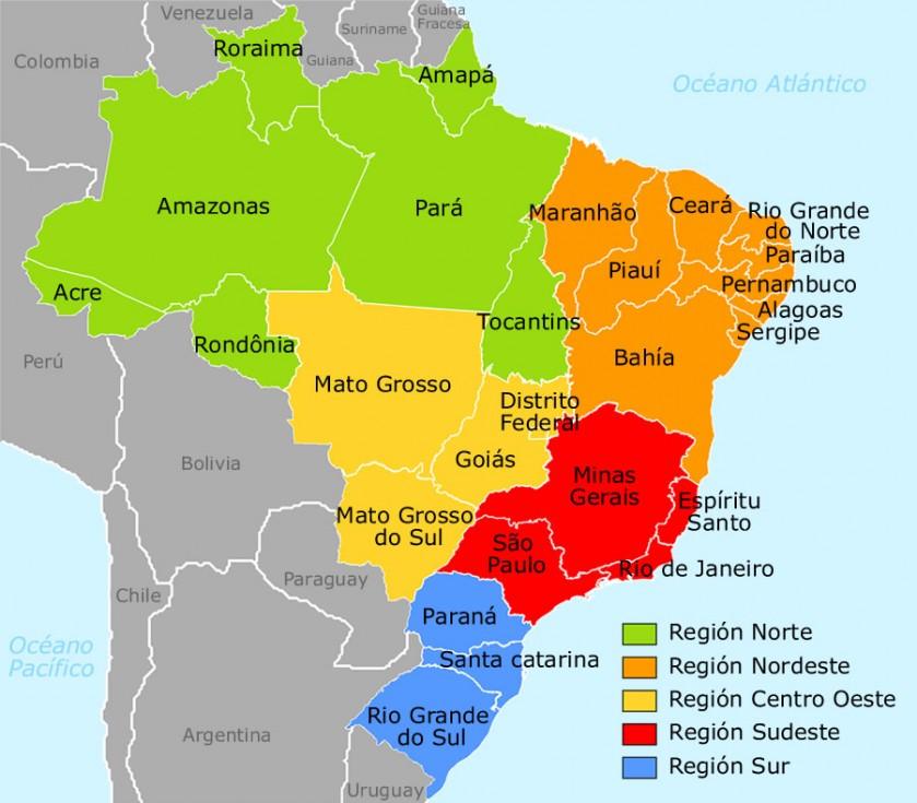 Mapa Político do Brasil: como foi a divisão? [resumo completo]