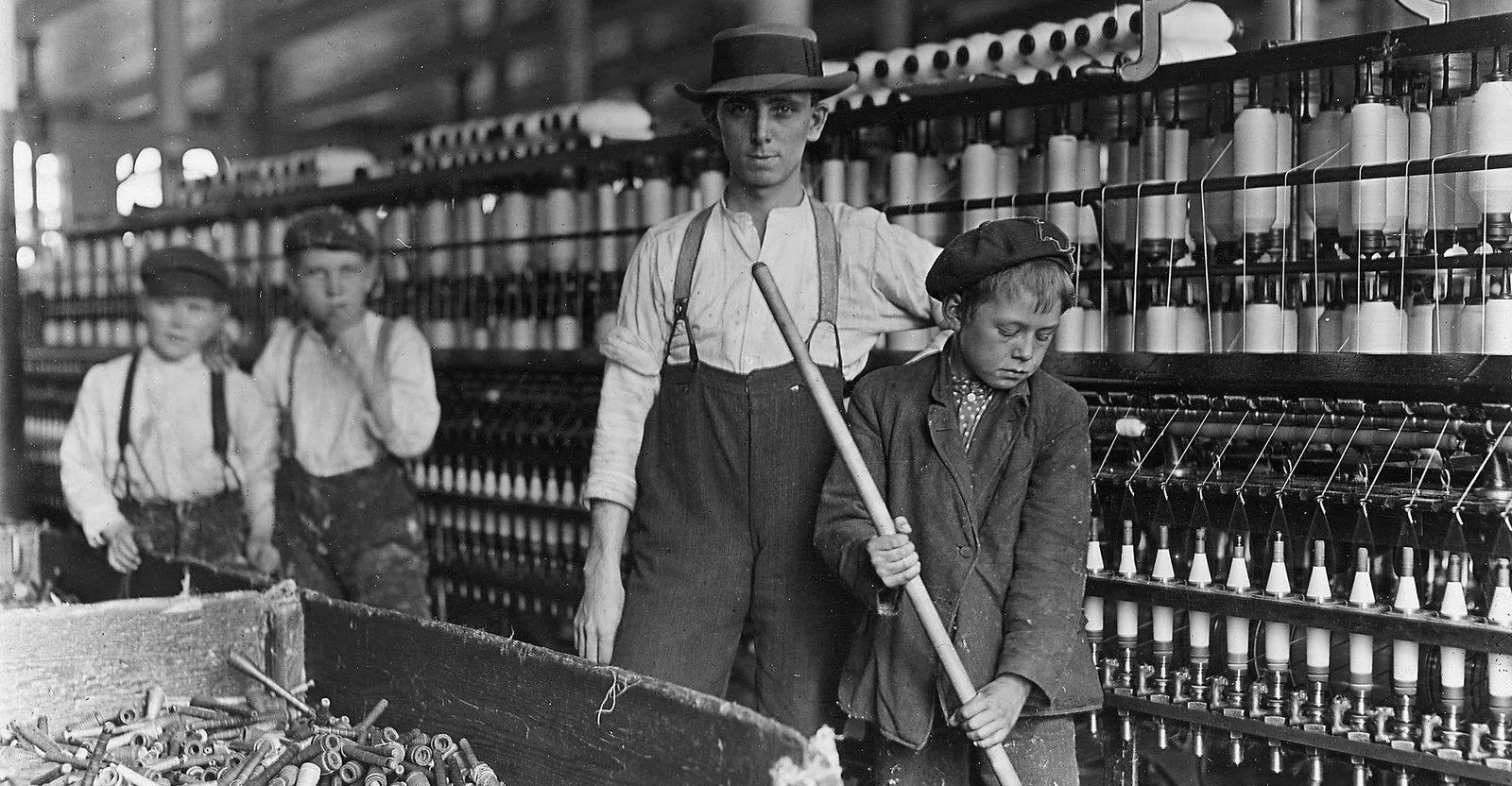 revolução industrial e os direitos trabalhistas