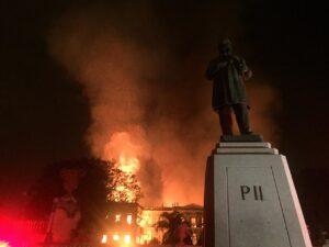 museu nacional fogo