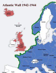 muralha do atlântico plano