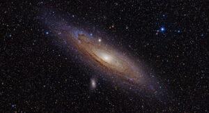 galáxia andrômeda