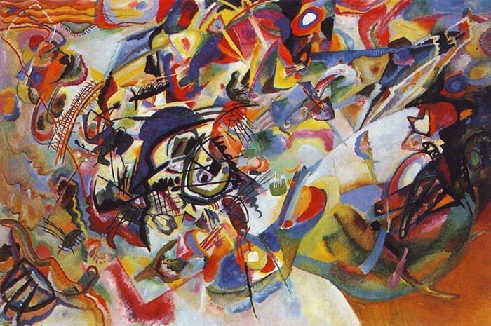 Arte Abstrata Caracteristicas Artistas E Obras Resumo