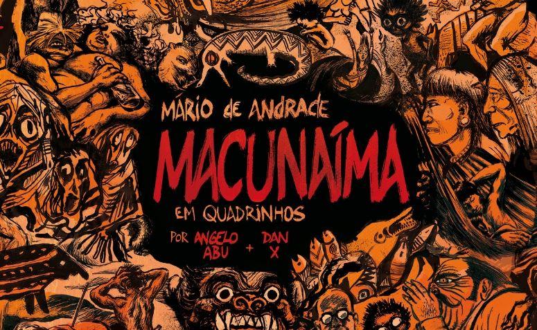 Capa de Macunaíma em Quadrinhos