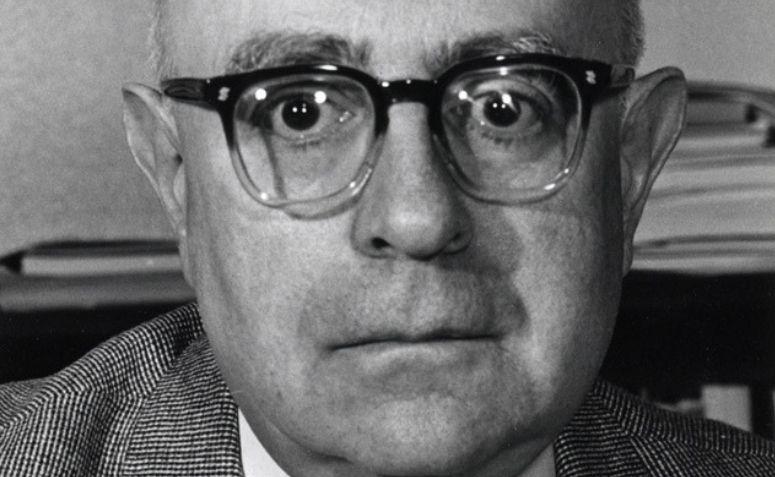 Fotografia de Theodor Adorno