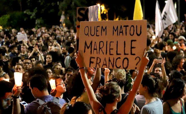 Fotografia dos movimentos sobre a morte de Marielle Franco