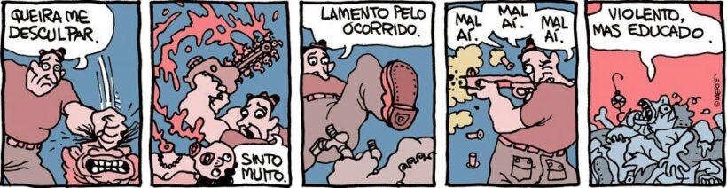 Charge de Laerte Coutinho.