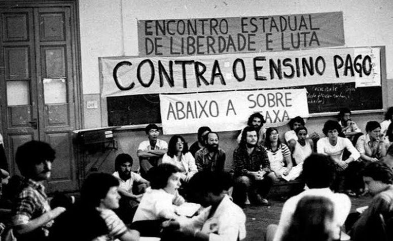 Encontro da Libelu, organização do movimento estudantil que dirigiu o DCE Livre da USP nos anos 1970.