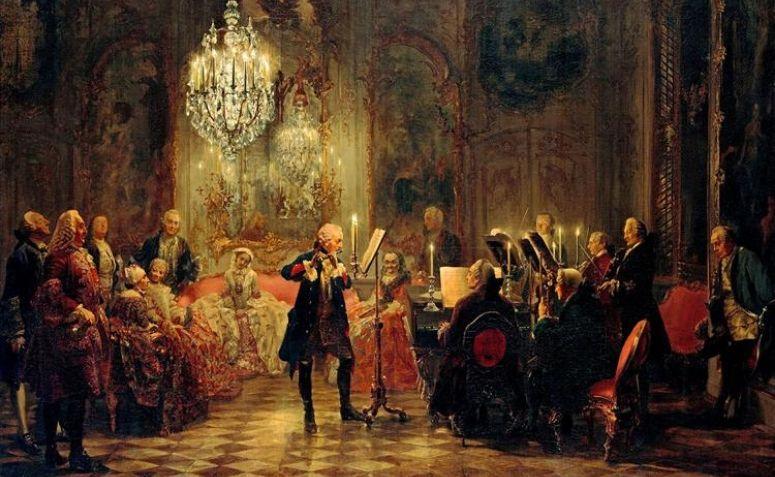 Exemplo de cultura erudita: um concerto musical.