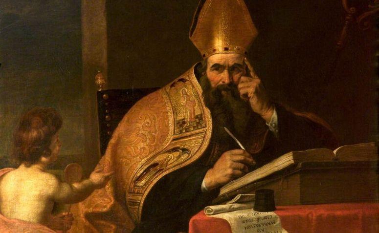 Pintura de Santo Agostinho