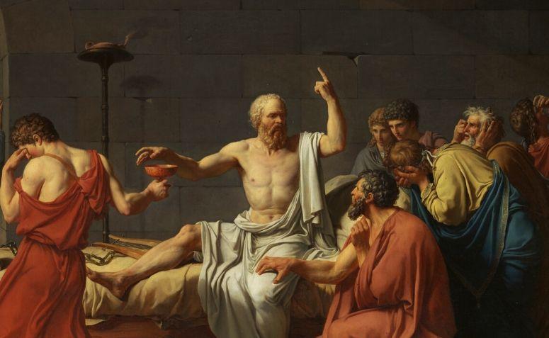 Pintura de Sócrates
