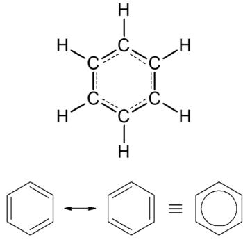 Estruturas do benzeno