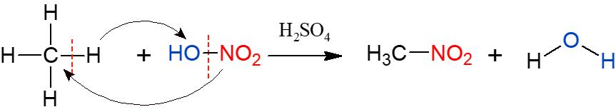 reação de nitração