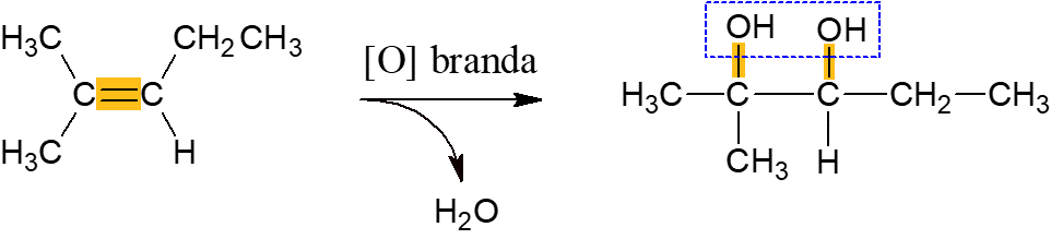 reação oxidação branda