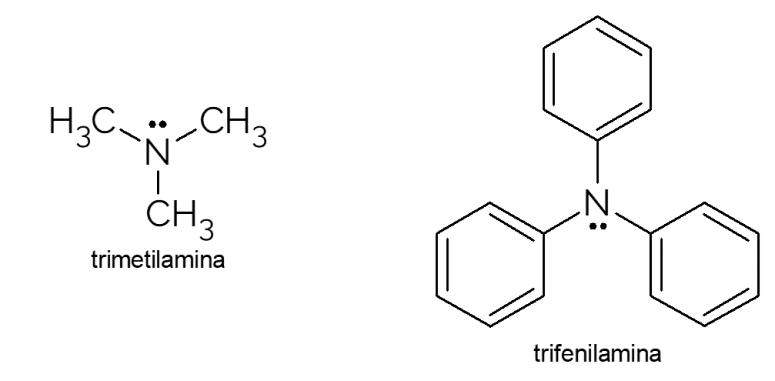 exemplos amina terciária