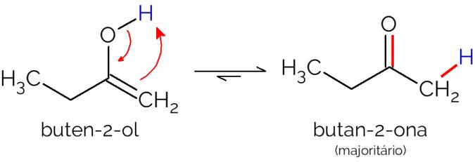 tautomeria ceto-enólica